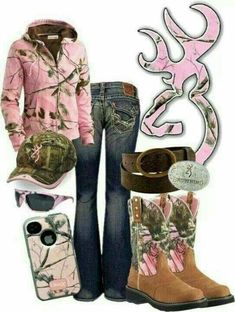 Maybe a different color than pink. Country wear