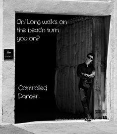 Chris Colfer, Controlled Danger