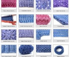 knitting cast--on small