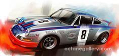 Octane Gallery - the Automotive Art of Radu Muntean