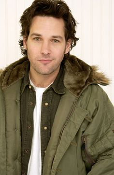 Paul Rudd....I think he was wearing this same coat when I met him!