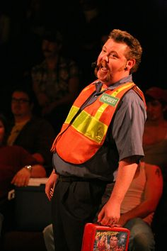 Artistic Director Craig A Miller as Norbert.