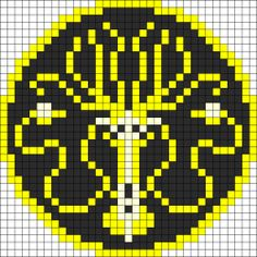 4x large grid pegboard - Game Of Thrones Greyjoy sigil