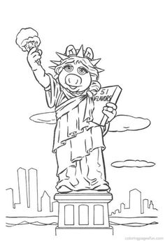 Muppets Coloring Pages 20