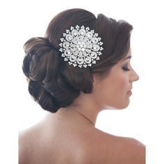 Sunflower Bridal Comb - in Swarovski crystal £62.99