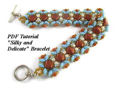 """Bracelet Tutorial, """"Silky and Delicate"""" Beading Pattern Beads Tutorial, Beaded Bracelets Tutorial, Diy Bracelet, Jewelry Patterns, Bracelet Patterns, Beading Patterns, Beading Tutorials, Sell Items, Seed Beads"""