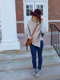 Hat Trick // my kind of sweet // fall fashion // mom style //