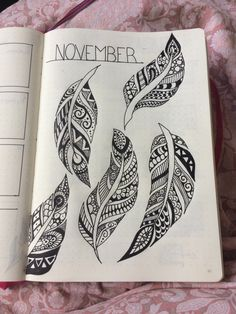 November cover page feathers bullet journal bujo идеи подарк Bullet Journal Font, Bullet Journal Themes, Bullet Journal Inspiration, Bujo, Up Quotes, Woman Quotes, Quotes Girls, Beauty Quotes, Bullet Journal November Cover Page