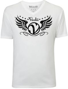Rock the Voolii V-Wings tee and show you are a Volley Style Icon!     Men's Fine Jersey Fitted Tee   4.3 oz 100% Combed Ringspun Cotton, Super-soft, lightweight, slim-fit tee. Machine washable and preshrunk to minimize shrinkage. Printed care label.  Item code: MTSS0006V  Price: $20.00  http://www.voolii.com/VooliiShop/tabid/184/CategoryID/1/List/0/catpageindex/2/Level/a/ProductID/33/Default.aspx