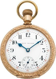 Dating Seth Thomas Pocket Watch