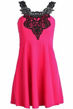 Oh wow love that lace! This would be a gorgeous summer date night dress