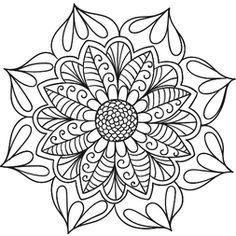 Mandala Floral #4