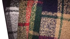"""free ship wool tweed fabric warm color soft feel weaved Needled fabrics 4 colors for choice price for 1 yard 59"""" by DecorHomeArt on Etsy"""
