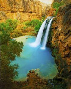 Havasu Falls, Grand Canyon, Arizona, USA