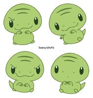 Chibi Rex by Daieny