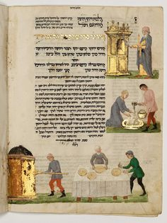 Israel Museum, Jerusalem:    Fact #37:   The magnificent Rothschild Miscellany was written and illuminated in northern Italy in the 15th century.   It contains 37 units of text, including biblical books, prayer books, commentaries and legends.   #50facts_50years