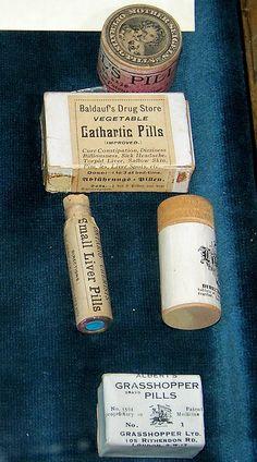 Various pills    Niagara Apothecary; Niagara-on-the-Lake, Ontario.