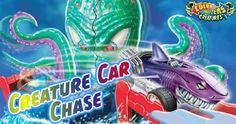 Criaturas submarinas de coches