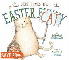 Deborah Underwood (New York Times Best Seller - The Quiet Book) and Claudia Rueda (My Little Polar Bear) have joined forces to create a wonderful Easter picture book with a twist . Here Comes The Easter Cat. Easter Cats, Easter Bunny, Hoppy Easter, Easter Books, Mo Willems, What Cat, Here Comes, Children's Picture Books, Penguin Random House