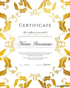 Editable Design For Diploma,. throughout Blank Certificate Of Achievement Template - Sample Business Template Free Printable Certificates, Free Certificate Templates, Templates Printable Free, Certificate Border, Certificate Of Achievement Template, Blank Certificate, Award Certificates, Golden Ticket Template, Ticket Template Free