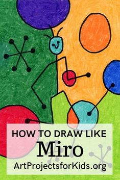 How to Draw like Miro · Art Projects for Kids