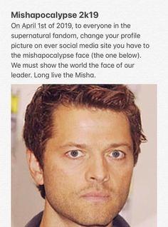 Our fandom is crazy and I love it Supernatural Bloopers, Supernatural Tattoo, Supernatural Pictures, Supernatural Imagines, Supernatural Wallpaper, Supernatural Memes, Pokemon, Super Natural, Misha Collins