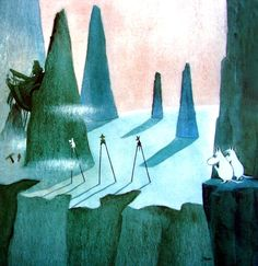 Love this Moomin landscapes