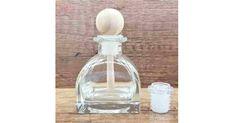 Recipient pentru odorizant de camera, Square, 50 ml - RON Room Freshener, Wine Decanter, Decorative Objects, Diffuser, Fragrance, Container, Indoor, Bottle, Glass