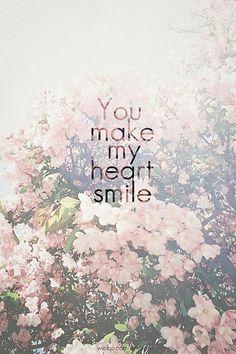 You• make• my• heart• :)