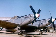 twin mustang aircraft | This early Twin Mustang was used to test and demonstrate the type's ...