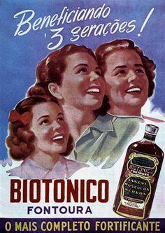 - MEDICAMENTOS & COSMÉTICOS - FONTOURA - Biotônico -