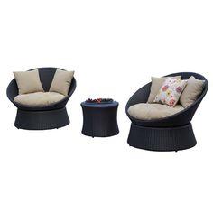 Javier 3pcs Setting | Clickon Furniture | Designer Modern Classic Furniture