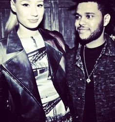 Iggy Azealia and The Weeknd