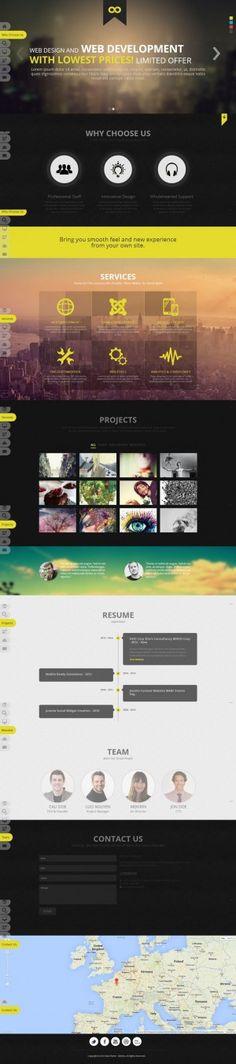 NOO NOOne – Joomla 3 Onepage Portfolio Template