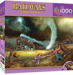 Railways - Tornado Alley - 1000 Teile - MASTER PIECES