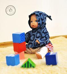 ANJANA für Puppen, Kreativ-FREEbook - farbenmix Online-Shop - Schnittmuster, Anleitungen zum Nähen