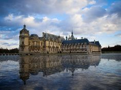 Chateau of Chantilly #paris #france #travel