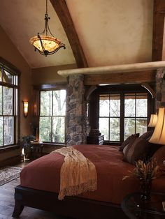 Traditional Spaces Log Home Interior Photos Design, Pictures, Remodel, Decor and Ideas - page 7