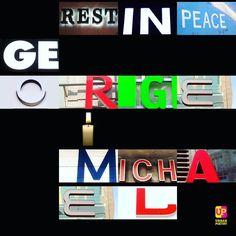 Farewell, George Michael #restinpeace #georgemichael #wham #britpop #pop #urbanpoetry #berlin #wien #zürich #london