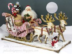 Juliz Design Post : Jingle All The Way - step by step