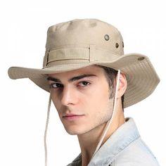 Outdoor bucket hat for men UV package fishing sun hats 9869640c9719