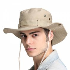Outdoor bucket hat for men UV package fishing sun hats c60e48f7545a