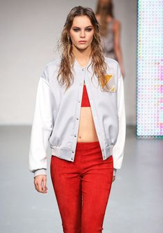 Colorblock Bomber Jacket Trend for Spring Summer 2013.  Zoe Jordan  Spring Summer 2013 #Trendy  #Fashion #Trends