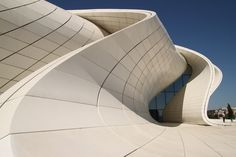 Heydar Aliyev Cultural Center. Baku, Azerbaijan. Zaha Hadid