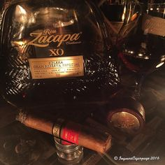 Now that's better  Have a perfect Friday guys  Ron Zacapa XO With Partagas D4 Aged 2008 by ingvarscigarpage