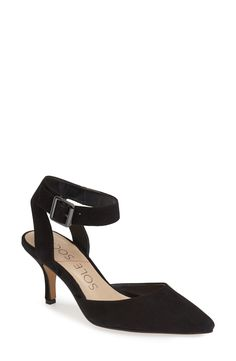 Sole Society 'Olyvia' Suede Pump (Women) available at #Nordstrom