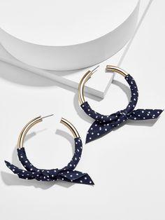 Sabrine Hoop Earrings