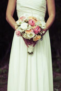 Gorgeous bouquet! Photography By / http://photographsbyanjuli.com,Wedding Planning By / http://laurabirneyevents.com / Floral Design: http://dhweddingsandevents.com