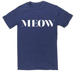 HippoWarehouse MEOW unisex short sleeve t-shirt HippoWarehouse http://www.amazon.co.uk/dp/B00U1MBNH6/ref=cm_sw_r_pi_dp_O4z6vb1S3BJG3