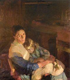 Joaquín Sorolla - La esposa del pescador